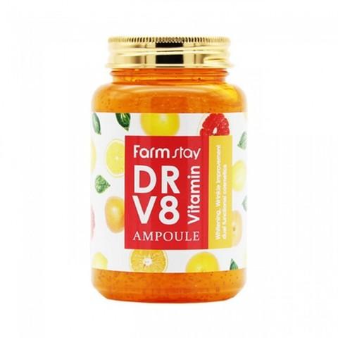Сыворотка с витаминами FarmStay  DR-V8 Vitamin 250 мл.