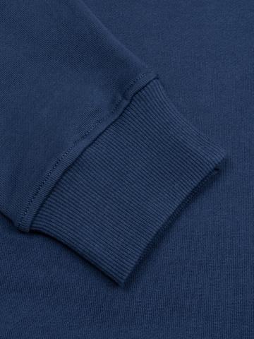 Спортивный костюм синий с лампасами