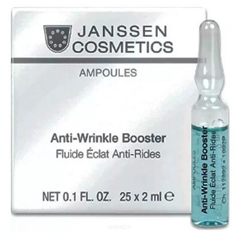Janssen Ampoules: Сыворотка для лица реструктурирующая с лифтинг-эффектом, в ампулах (Anti-Wrinkle Booster)