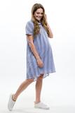 Платье для беременных 09574 сиреневый