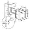 Встраиваемый духовой шкаф Electrolux EZB 52410 AX схема