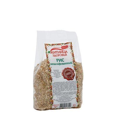 Рис нешлифованный,  500 гр. (Житница здоровья)