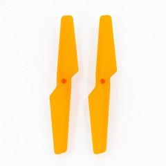 Лопасти A оранжевые для квадрокоптера MJX X705C - MJX-X705C-3-O