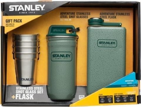 Картинка фляга для алкоголя Stanley Adventure Набор 0,59ML+0,23L Зеленый - 1