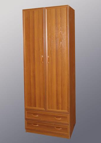 Шкаф 2-дверный с МДФ-профилем