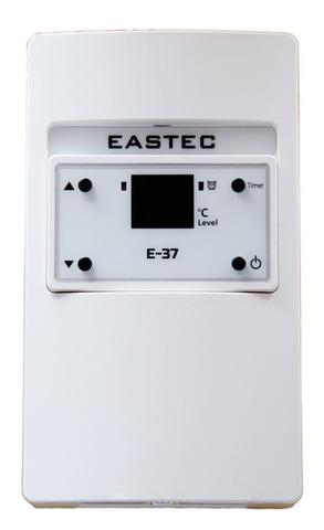Терморегулятор для теплого пола EASTEC (ИСТЭК) E - 37 (Накладной 4 кВт) аналог UTH 170. EASTEC E-37