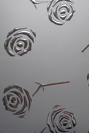 13919 Roses silver pf met/silver