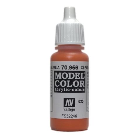 Model Color Clear Orange 17 ml.
