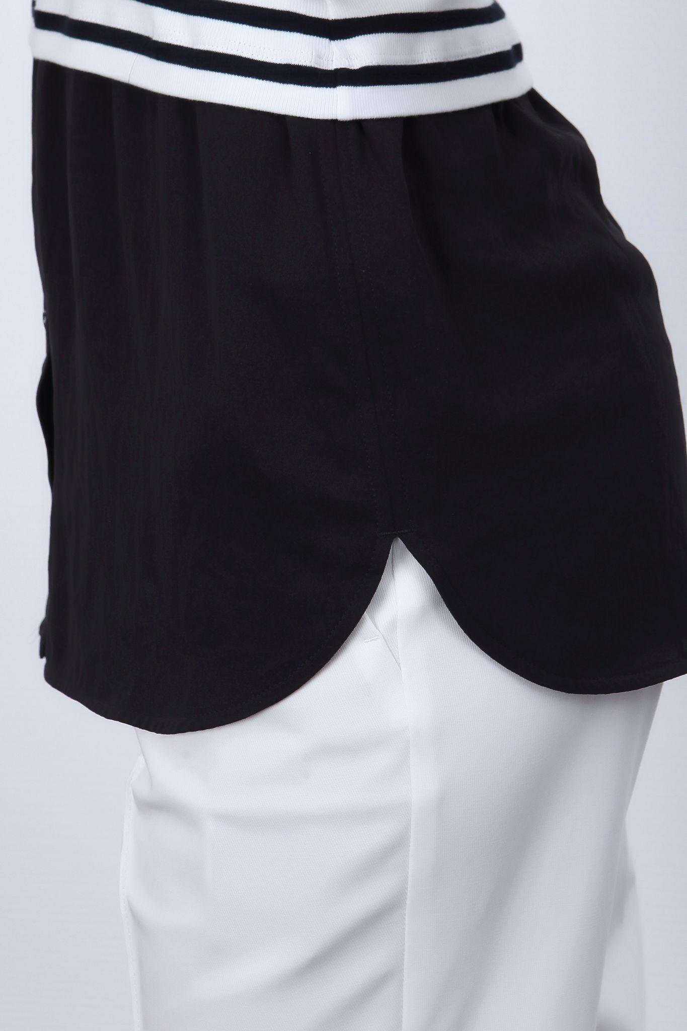 Marc Cain  Sports Топ с имитацией нижней части рубашки