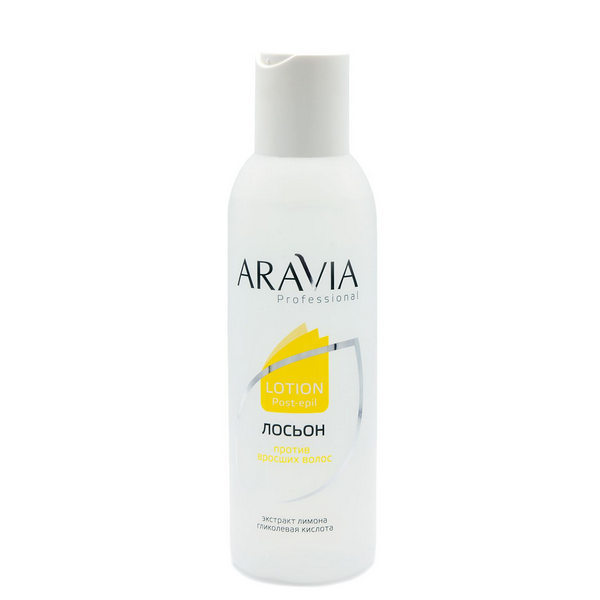 Для замедления роста волос ARAVIA Professional, Лосьон против вросших волос с экстр. лимона 150 мл Aravia_Professional__Лосьон_против_вросших_волос_с_экстр._лимона_150_мл.jpg