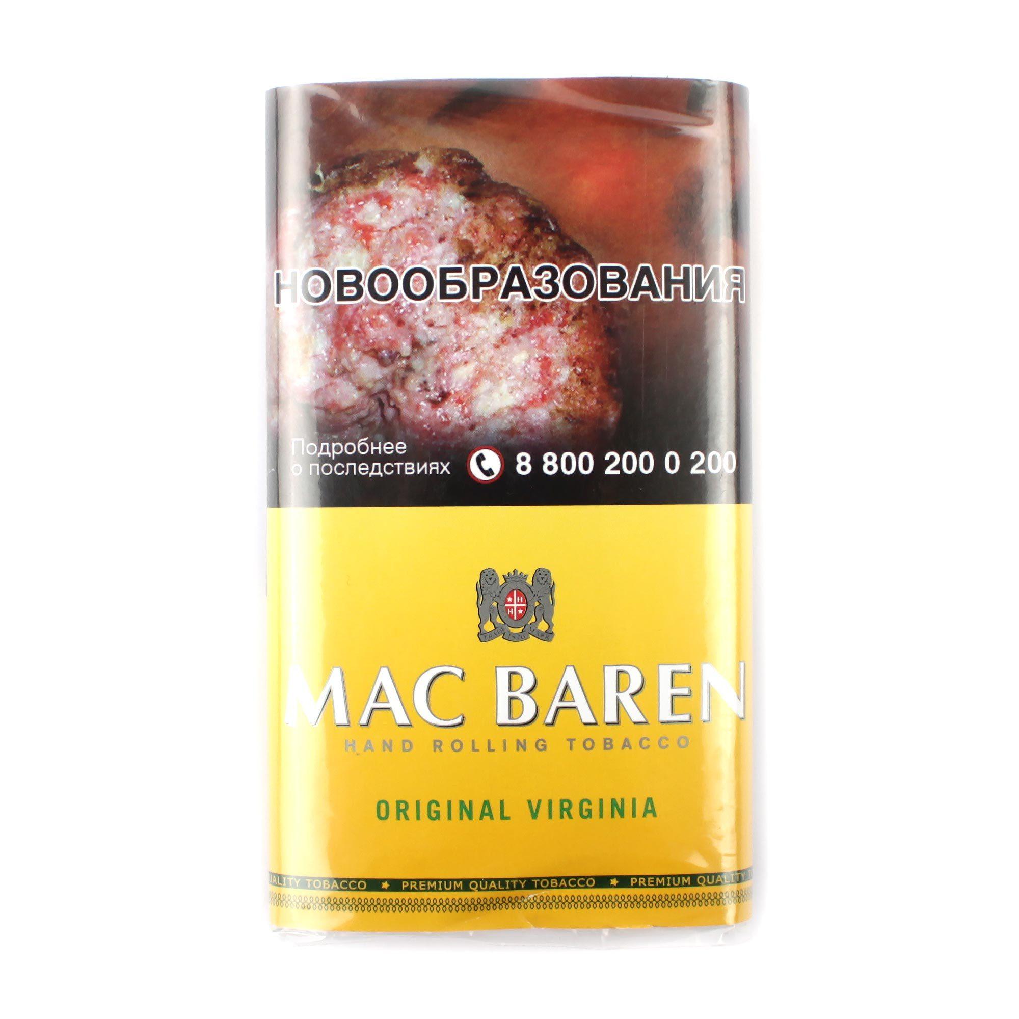 Табак сигаретный Mac Baren ORIGINAL VIRGINIA 40 гр