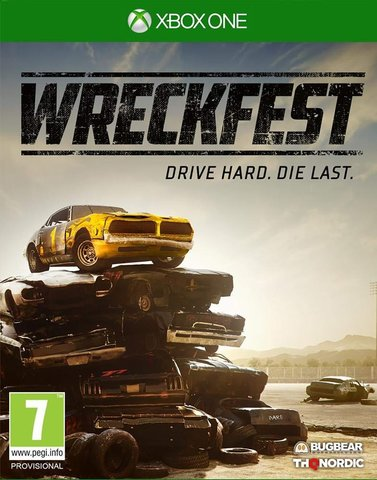 Wreckfest (Xbox One/Series X, русская версия)