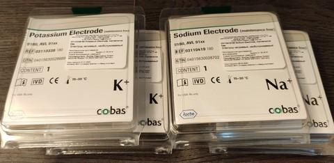 Натриевый микроэлектрод Sodium Electrode AVL РОШ/Германия