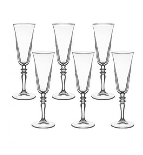 Набор бокалов для шампанского Pasabahce Karat 160ml 6 шт.   440146-6