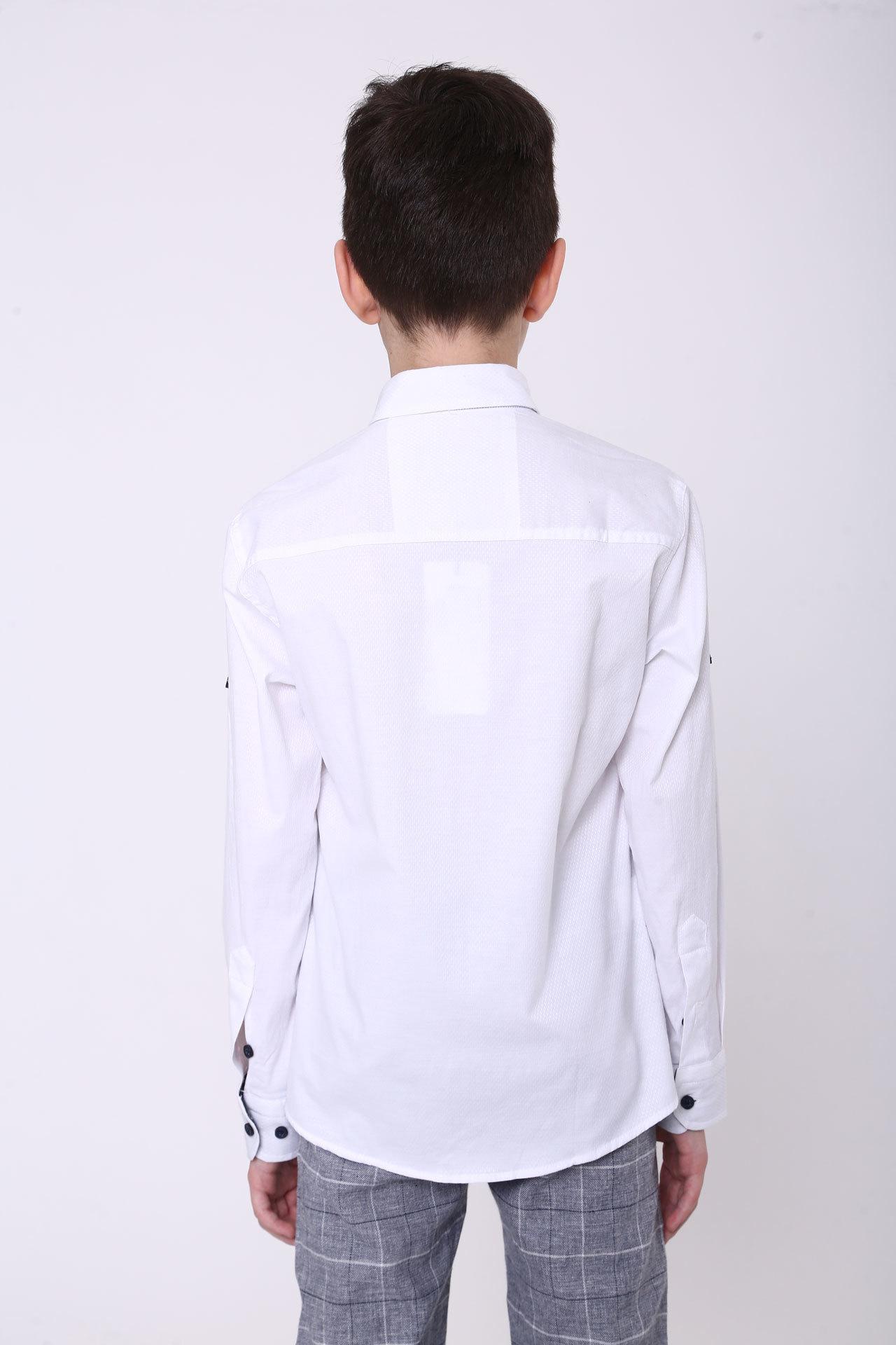 Рубашка белая Bold Турция, 14383 (140-170)