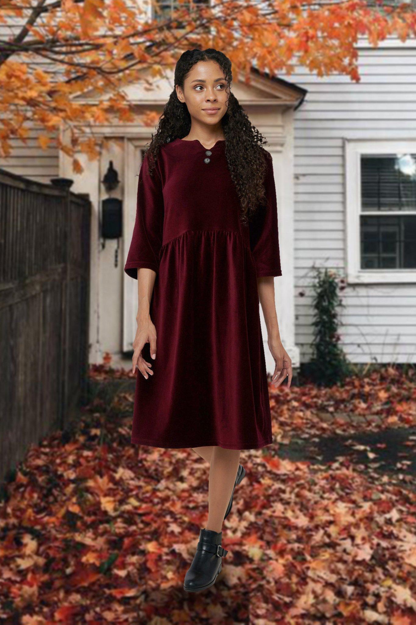 Mix Mode 6286 платье (вельвет)