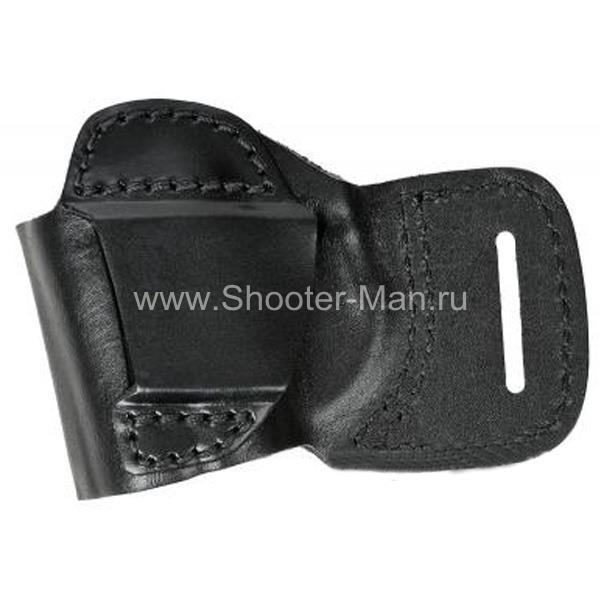 Кобура кожаная поясная для пистолета Оса ПБ-4-2 ( модель № 5 ) Стич Профи
