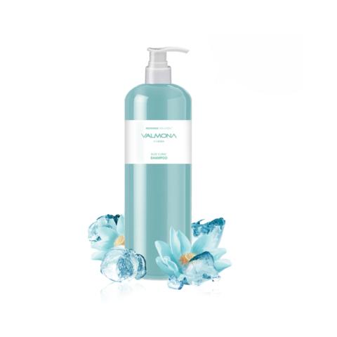 Evas Valmona Recharge Solution Blue Clinic Nutrient Shampoo восстанавливающий увлажняющий шампунь для волос