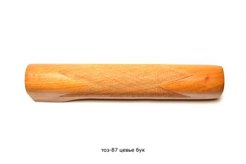 Цевье ТОЗ-87 бук