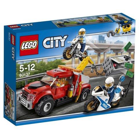 LEGO City: Побег на буксировщике 60137 — Tow Truck Trouble — Лего Сити Город