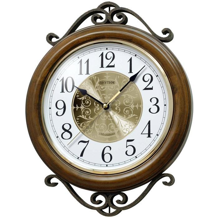 Настенные часы Rhythm CMH754NR06