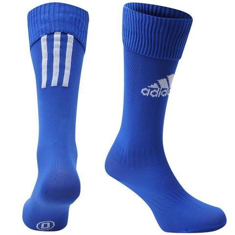 купить Гетры для становой тяги Adidas Santos синие вид спереди