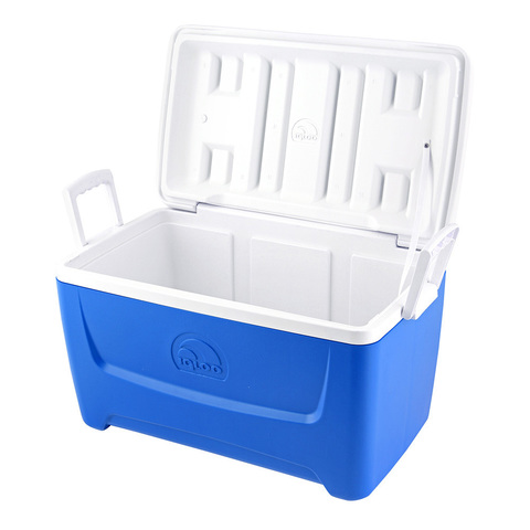 Изотермический контейнер (термобокс) Igloo Island Breeze 48 (45 л.), синий