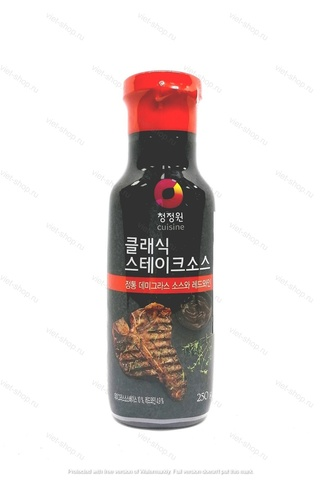 Корейский соус классический для мяса Classic Steak Sauce, 250 гр.