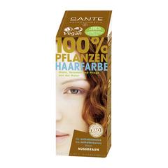 SANTE, Растительная краска для волос Коричневый ореховый, 100гр