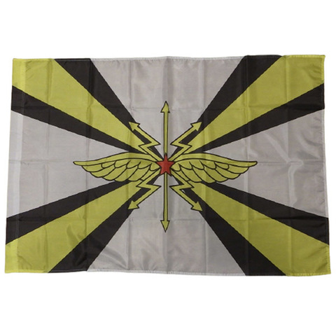 Флаг Войска Связи СССР 90*135
