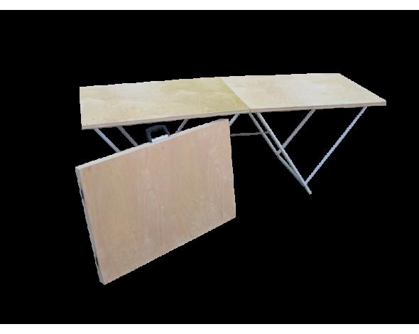 Торговый стол складной Митек 1,8х0,6 6мм, усиленный