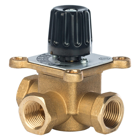 Клапан смесительный трехходовой STOUT - 1