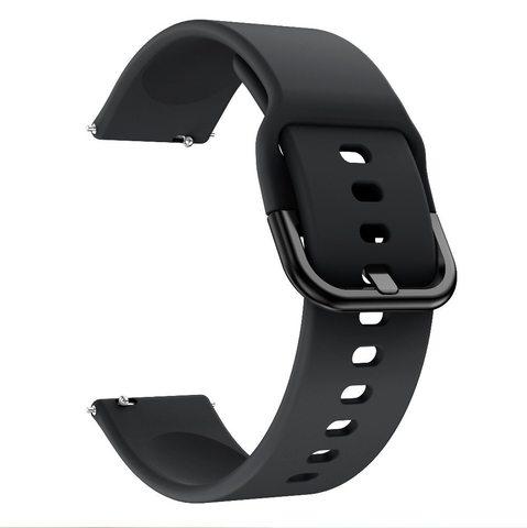 Силиконовый ремешок для Samsung Galaxy Watch Active 2 20мм (Black)