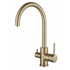 Смеситель KAISER Merkur 26744-3 для кухни под фильтр (бронза)