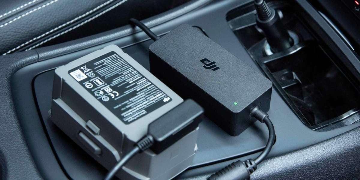 Автомобильное зарядное устройство DJI Mavic 2 Car Charger (Part11)