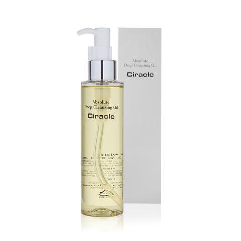 Ciracle Absolute Deep Cleansing Oil гидрофильное масло с камелией для всех типов кожи