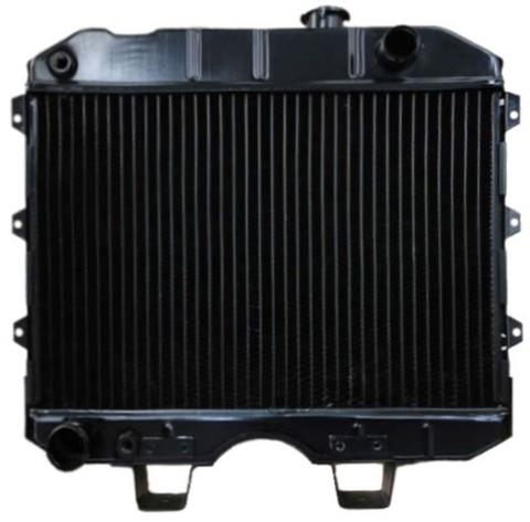 Радиатор охлаждения УАЗ 452, 469 (УМЗ 417) 3-х рядный, медный ИРАН