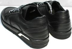 Красивые черные кроссовки женские Rifelini by Rovigo 121-1 All Black