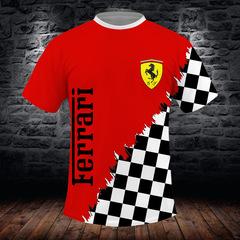 Футболка 3D принт, Ferrari (3Д Феррари) 03