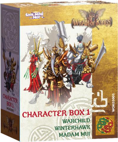 Shael Han Character Leader Box
