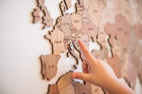 Карта мира World Map True Puzzle Exclusive edition 150 х 90