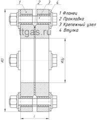 ИФС-32-16 двухфланцевое исп.2 схема
