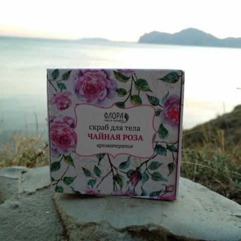Масляный скраб для тела «Чайная Роза»™Флора