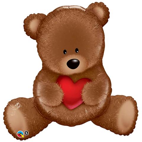 Q Фигура Медвежонок с сердцем