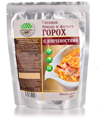 Туристическая еда Кронидов (Каша гороховая с копченостями)