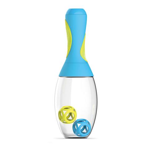 Шейкер Asobu Samba (0,6 литра), голубой/желтый