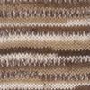 Пряжа YarnArt Crazy Color 110   (Коричневый, беж, кремовый)