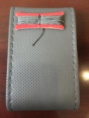 Оплетка на руль со шнуровкой LK 1013B (экокожа)