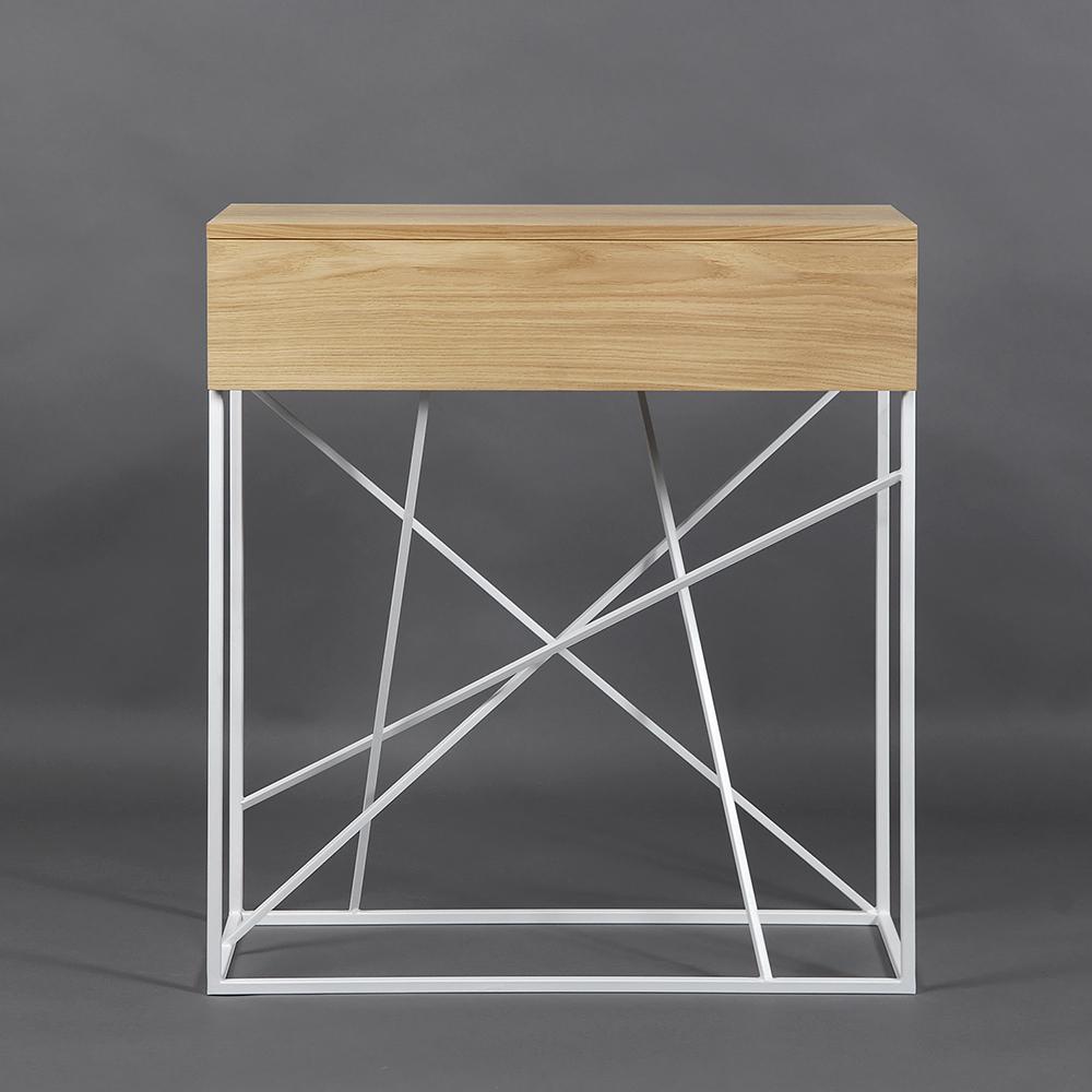 Тумба Intelligent design Wilson box white - вид 2