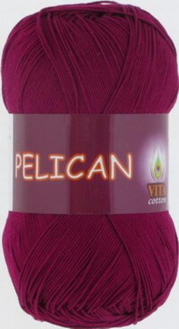 Пряжа Pelican (Vita cotton) 3955 Винный